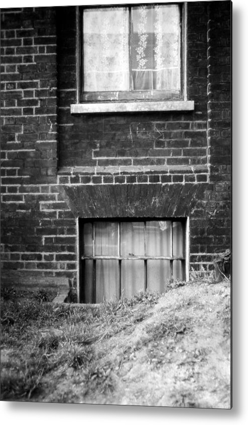 London England Metal Print featuring the photograph Sweet Mystery Of...windows by David M Davis