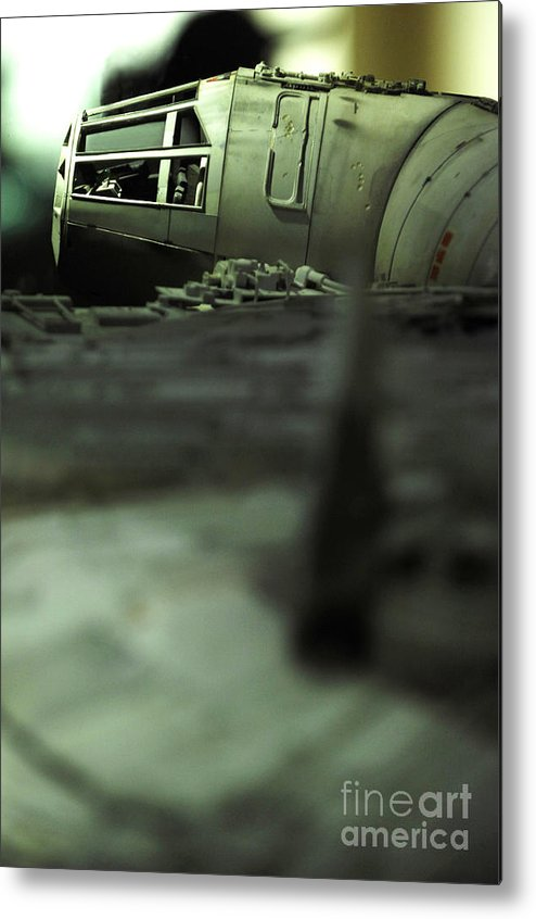 Fighter Metal Print featuring the photograph The Millennium Falcon by Micah May