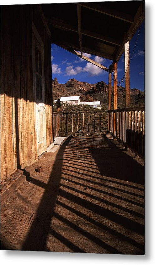 Oatman Metal Print featuring the photograph The Oatman Hotel by Kenan Sipilovic