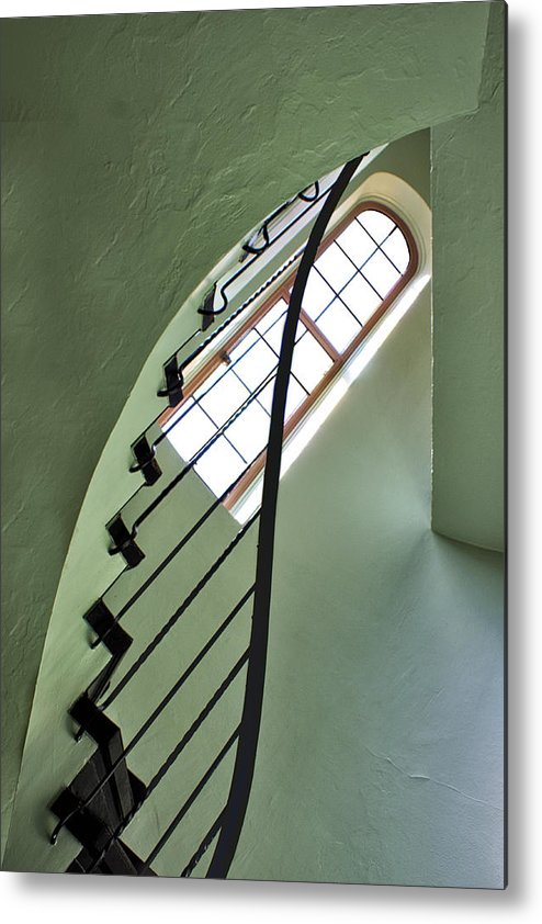 Staircases Metal Print featuring the photograph The Servants' Staircase by Nikolyn McDonald