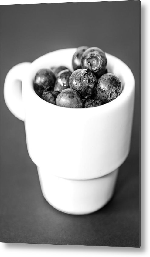 Berries Metal Print featuring the photograph There Is Nothing Like A Good Cuppa by Martina Fagan
