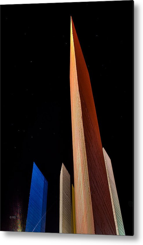 Towers Metal Print featuring the photograph To The Stars by Rodolfo Santibanez
