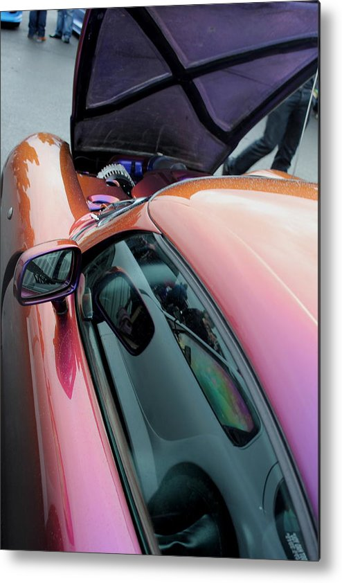 Tvr Metal Print featuring the photograph Tvr Cerbera by Perggals - Stacey Turner