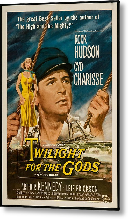 Twilight Of The Gods Metal Print featuring the photograph Twilight Of The Gods 1958 by Mountain Dreams