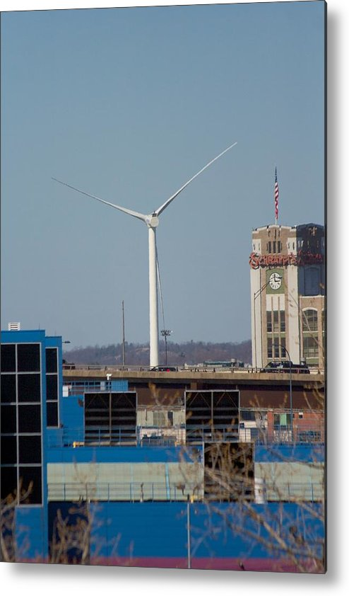 North Point Metal Print featuring the photograph View From North Point by Allan Morrison
