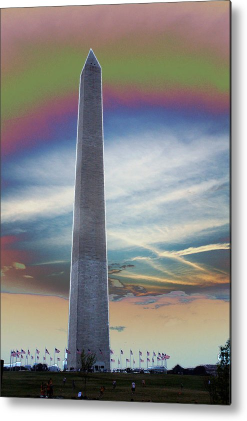 Washington Monument Metal Print featuring the photograph Washington Monument by Calphy Com