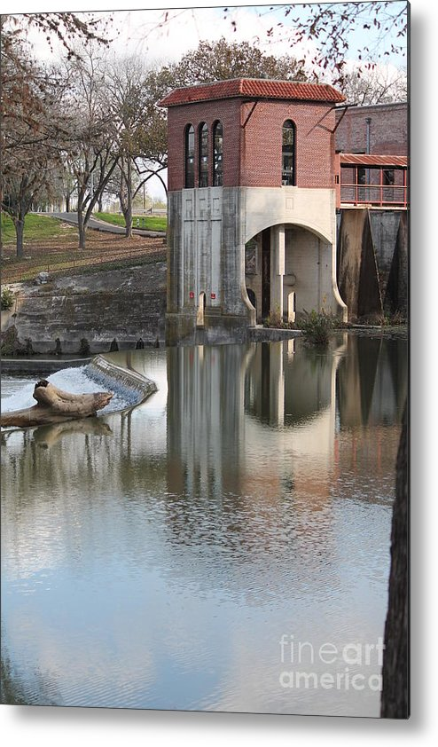 Guadalupe River Metal Print featuring the photograph Water Reflection by Marjie Parker