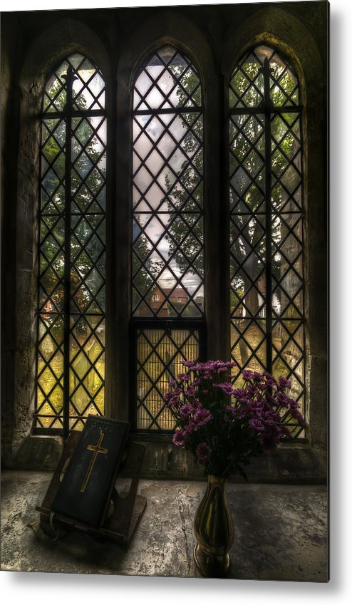 Ancient Metal Print featuring the digital art Window To God by Nathan Wright