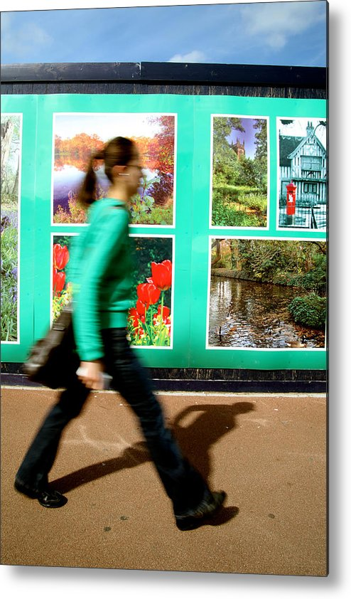 Jezcself Metal Print featuring the photograph Blending In by Jez C Self