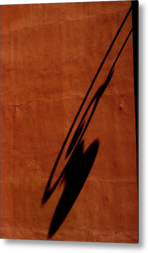 Burnt Orange Metal Print featuring the photograph Light by Joseph Yarbrough