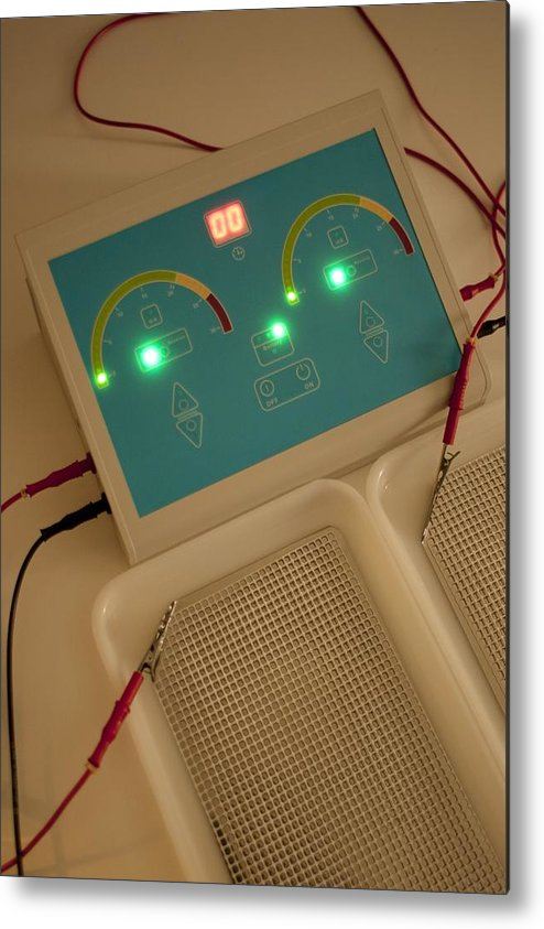 Technology Metal Print featuring the photograph Iontophoresis Equipment by