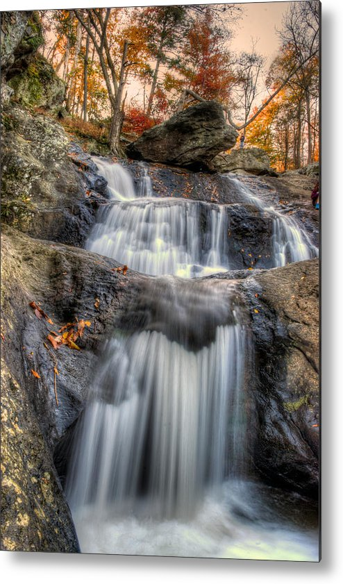 Cunningham Falls Metal Print featuring the photograph Cunningham Falls by Mark Dodd