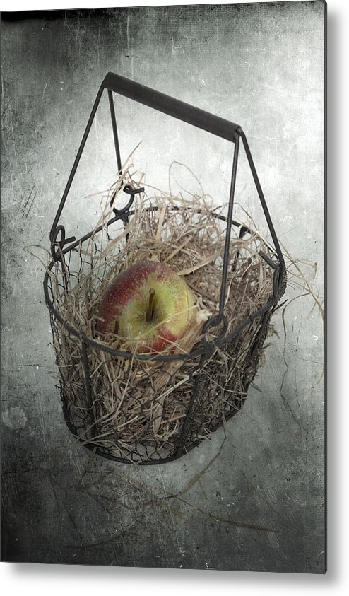 Basket Metal Print featuring the photograph Apple by Joana Kruse