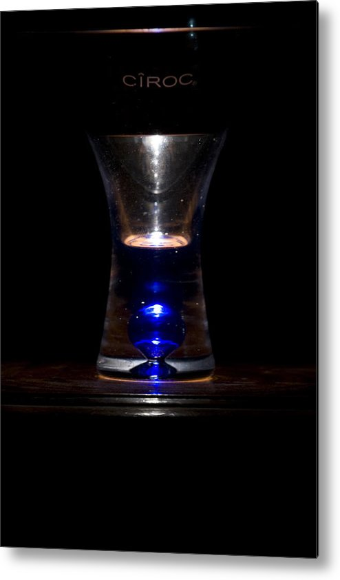 Conceptual Metal Print featuring the photograph Ciroc II by Jeremy Bartlett