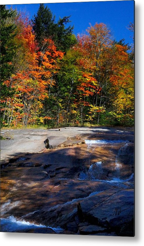 Metal Print featuring the photograph Fall Falls by Mark Valentine
