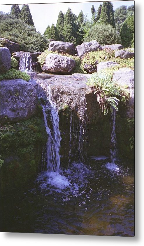 Landscape Metal Print featuring the photograph Falls by Annella Grayce