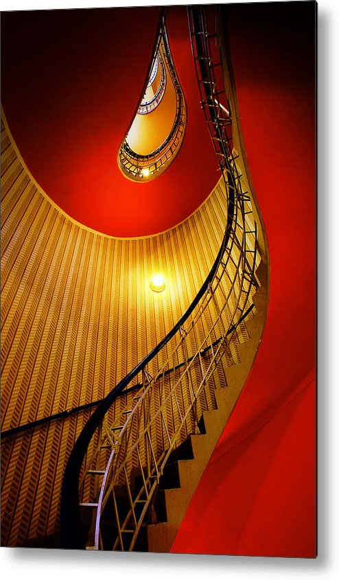Staircase Metal Print featuring the photograph Four Flights by John Galbo