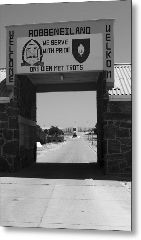 Robben Island Metal Print featuring the photograph Gateway by Aidan Moran