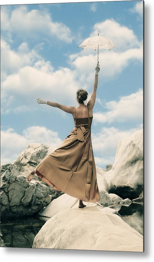 Female Metal Print featuring the photograph Mary Poppins by Joana Kruse