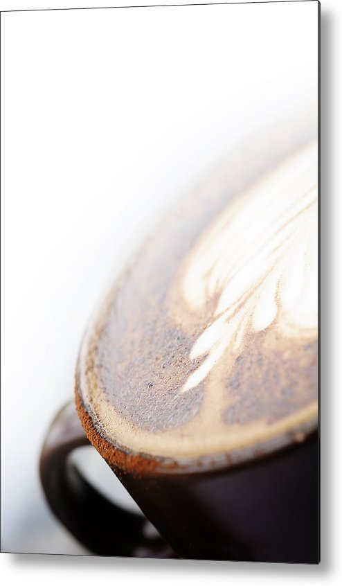 Aroma Metal Print featuring the photograph Mocha Coffee by Panupong Roopyai