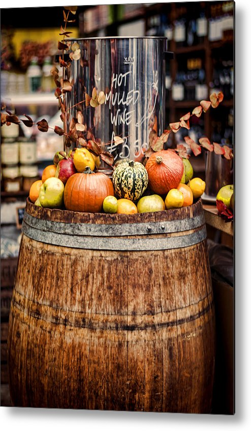 Mulled Wine Metal Print featuring the photograph Mulled Wine by Heather Applegate