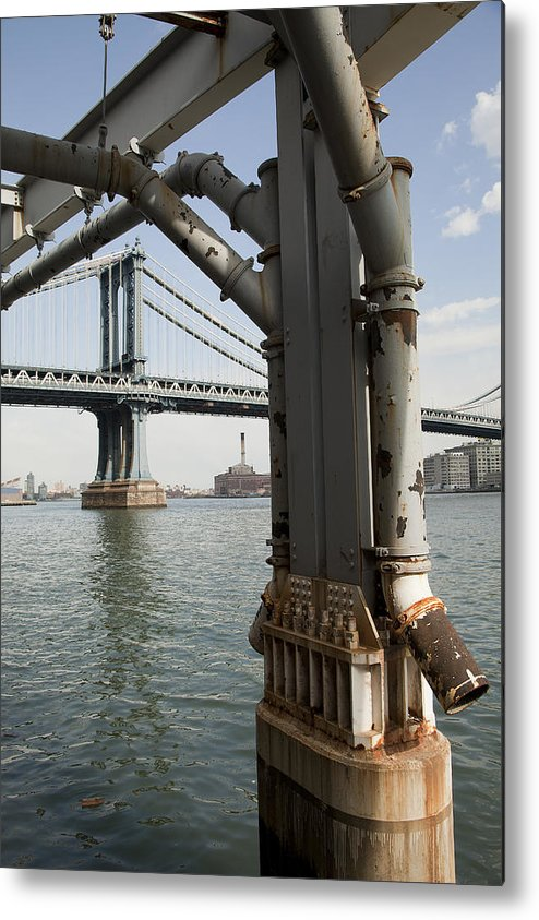 Metal Print featuring the photograph Ny Composition 4 by Art Ferrier