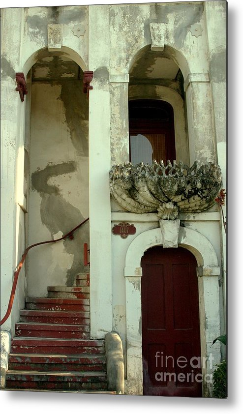 Architecture Metal Print featuring the photograph Pass Fantasies by Janice Keener