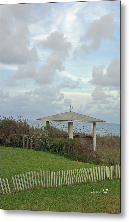 Seaside Metal Print featuring the photograph Seaside Sanctuary by Suzanne Gaff