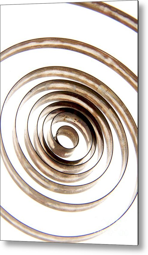 Circle Metal Print featuring the photograph Spiral by Bernard Jaubert
