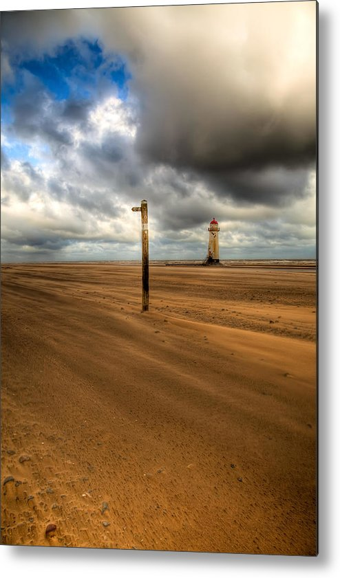 Hdr Metal Print featuring the photograph Storm Brewing by Adrian Evans