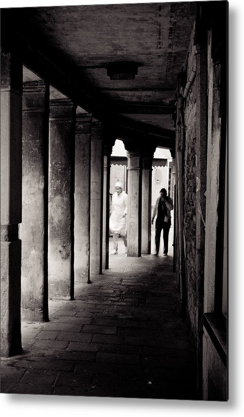 Venice Metal Print featuring the photograph Streets Of Venice by Justin and Ambyr Henderson