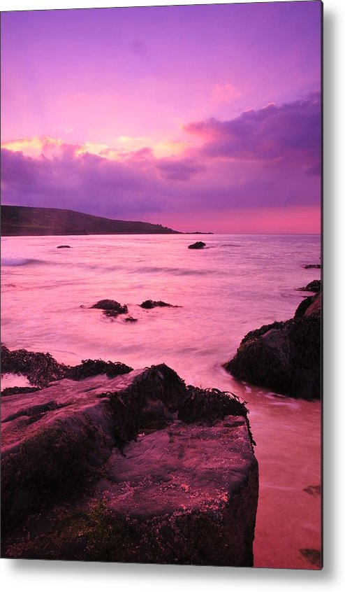 Sunset Metal Print featuring the photograph Sunset by Jenny Potter