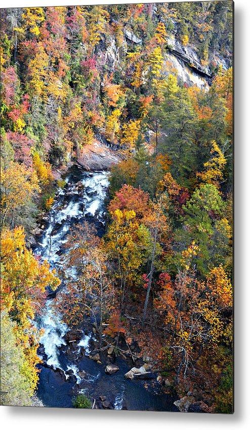River Metal Print featuring the photograph Tallulah River Gorge by Susan Leggett