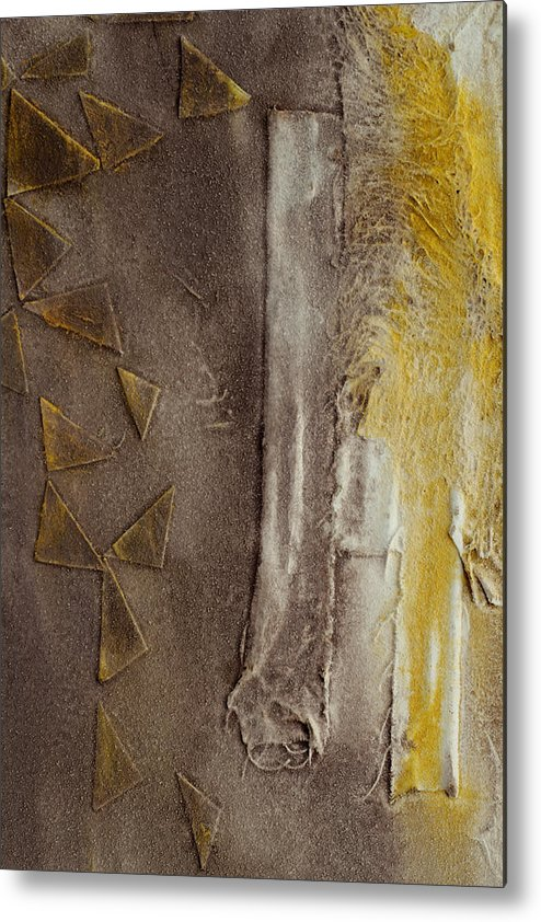 Thaw Metal Print featuring the painting Thaw 42 by Jorge Berlato
