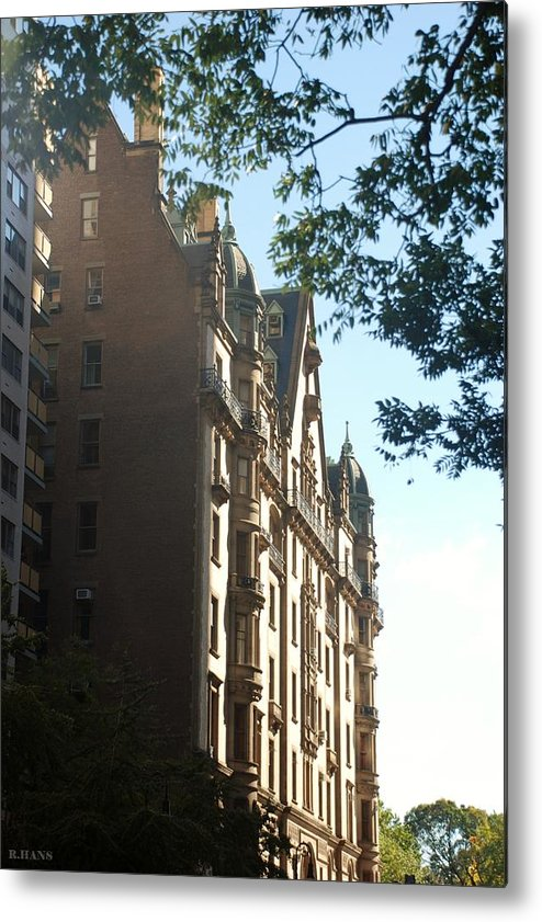 Color Metal Print featuring the photograph The Dakota by Rob Hans