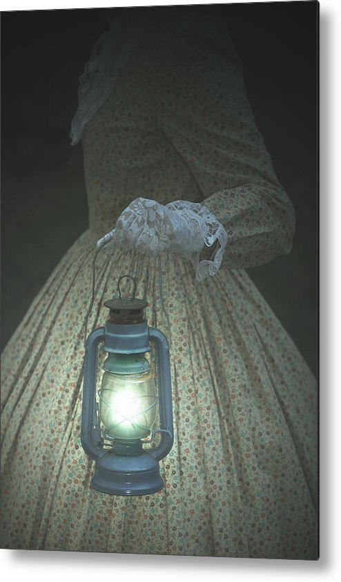 Female Metal Print featuring the photograph The Light by Joana Kruse