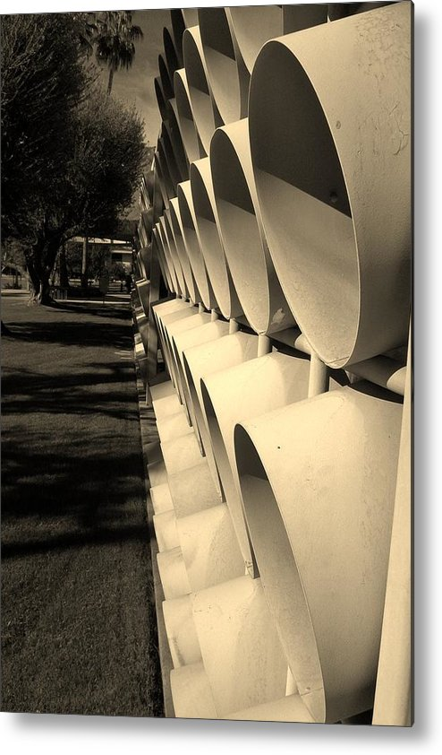 Mod Metal Print featuring the photograph The Long View by Shawn Savage