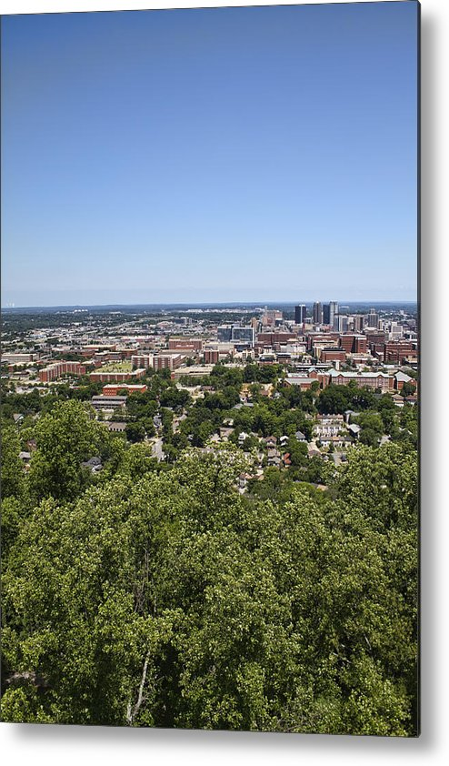 Birmingham Metal Print featuring the photograph The Southern City Of Birmingham Alabama by Kathy Clark
