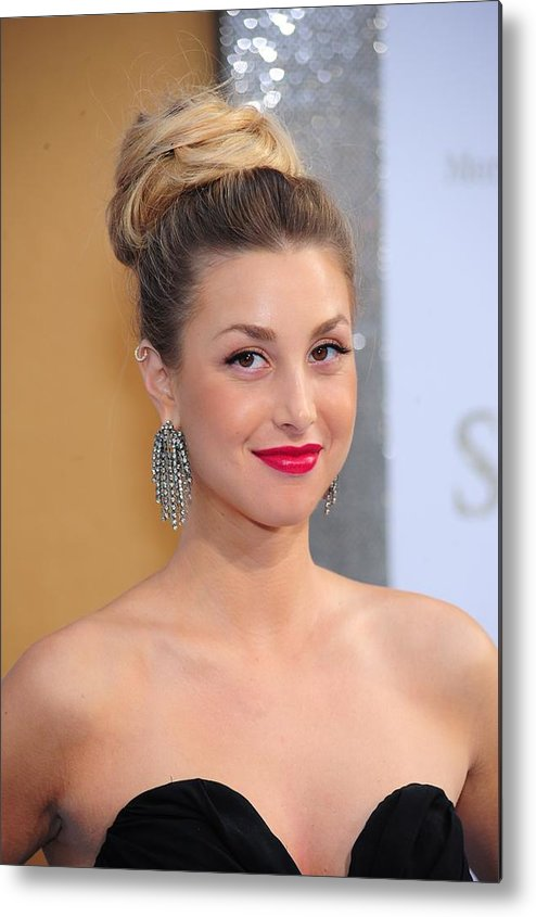 Whitney Port Metal Print featuring the photograph Whitney Port At Arrivals For Sex And by Everett