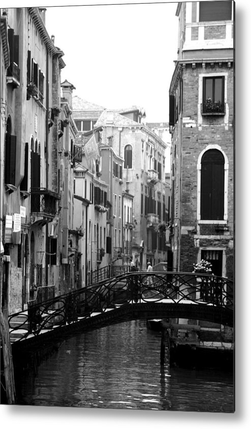 Venice Metal Print featuring the photograph Gondola Ride In Venice by Greg Sharpe