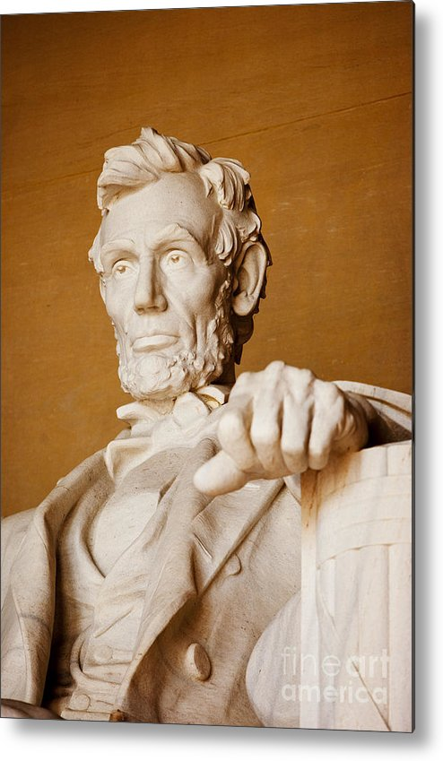 Abraham Lincoln Metal Print featuring the photograph Lincoln Memorial by Brian Jannsen