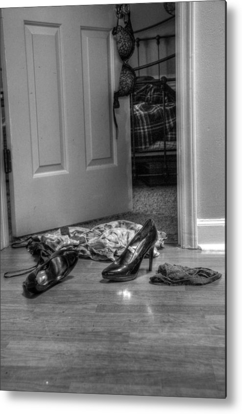 Rendezvous Metal Print featuring the photograph Rendezvous Do Not Disturb 02 by Andy Lawless