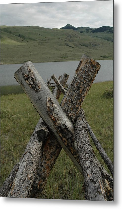 Landscape Metal Print featuring the photograph Untitled by Kathy Schumann