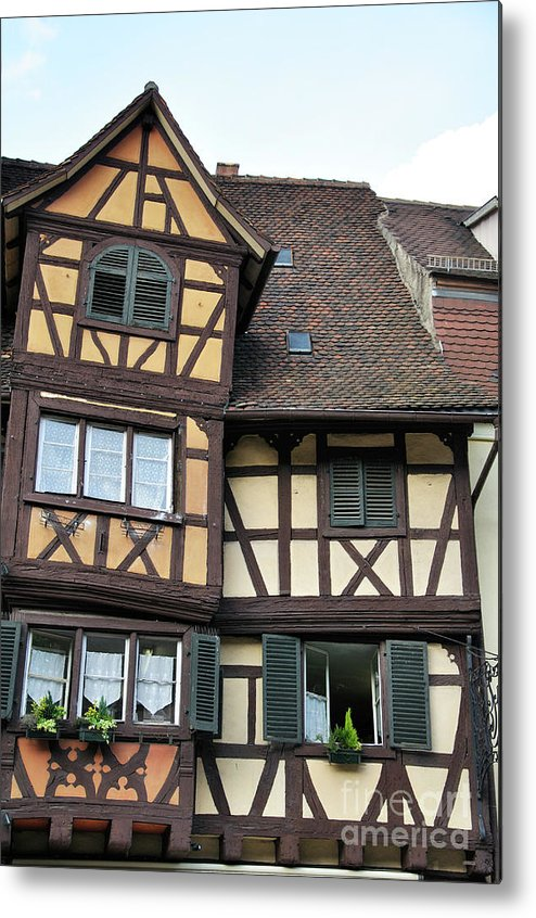 Colmar Metal Print featuring the photograph Colmar by LS Photography