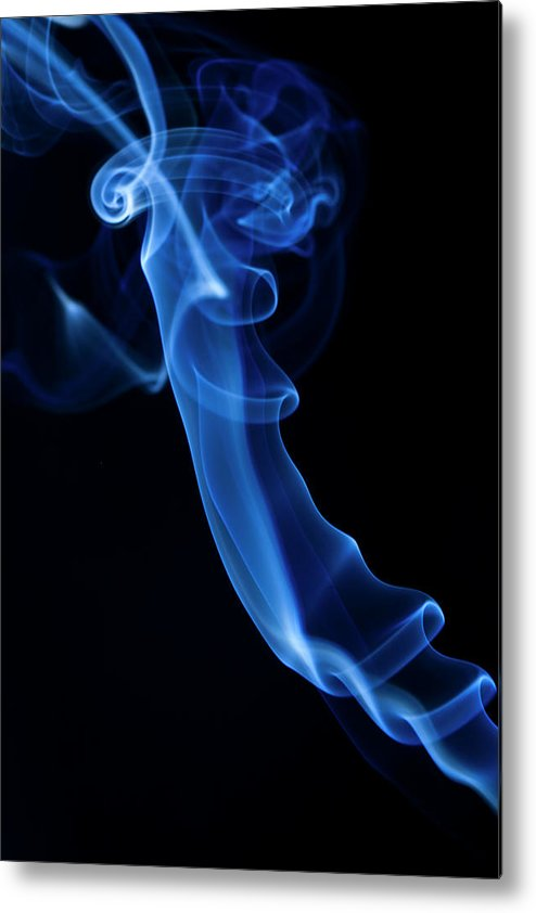 Abstract Metal Print featuring the photograph Holy Smoke by Tommaso Lizzul