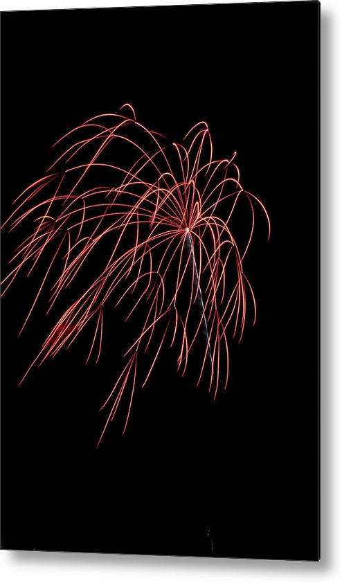 Metal Print featuring the photograph Firework by Rebekah Mancino