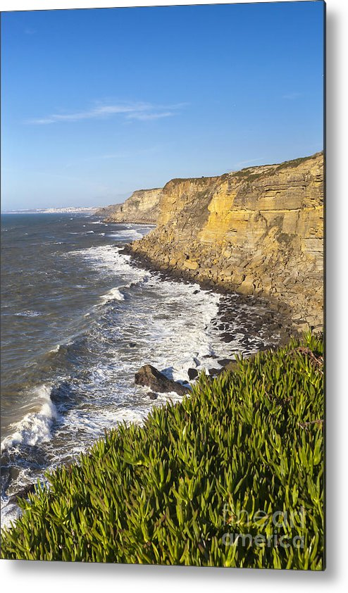 Architecture Metal Print featuring the photograph Portuguese Coast by Andre Goncalves