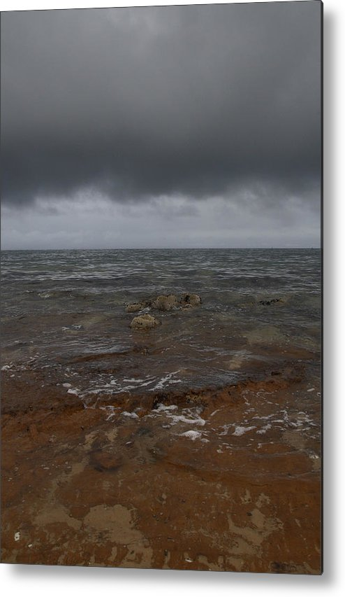 Sea Metal Print featuring the photograph Sandringham Beach by Masami Iida