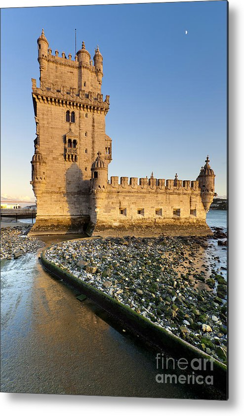 Age Metal Print featuring the photograph Tower Of Belem by Andre Goncalves
