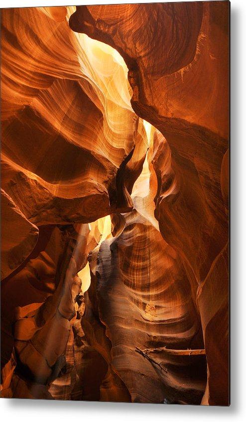 Antelope Metal Print featuring the photograph Antelope Canyon by Jacek Joniec